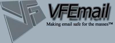 VFEmail provides high quality email services for users who are concerned with Privacy and Security. We obfuscate IPs, mitigate metadata, and provde mailboxes with and without backup features.